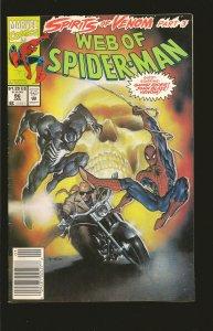 Marvel Comics Web Of Spider-Man Vol 1 No 96 January 1993