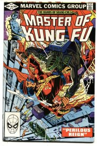 Master of Kung Fu #110 1982 Marvel 1st appearance of Ghost Maker