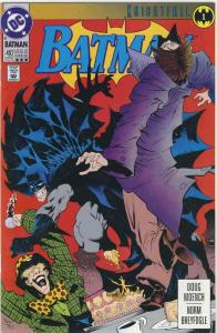 Batman #492 (3rd) FN; DC | save on shipping - details inside
