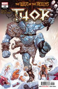 Thor #12 War Of The Realms (Marvel, 2019) NM