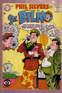 SERGEANT BILKO #3 PHIL SILVERS COMIC-CBS TV SERIES-1957 VG