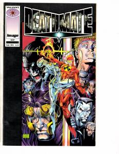 Lot Of 3 Indy Comics Deathmate Bone Sourcebook Dream Team # 1 Valiant Image J203