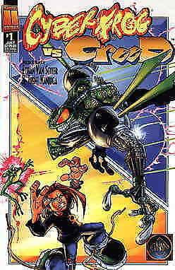 Cyberfrog vs CreeD #1 VF/NM; Harris | ethan van sciver - trent kaniuga