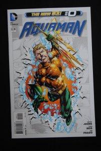 Aquaman, #0 NM, Geoff Johns, Ivan Reis, Joe Prado