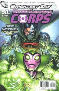 Green Lantern Corps #50 Patrick Gleason Variant & #1 DC New 52 NM.