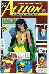Action Comics Weekly 636 Jan 1989 NM- (9.2)