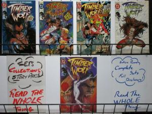 TIMBER WOLF (1992)   1-5 Legion of Super Heroes mini