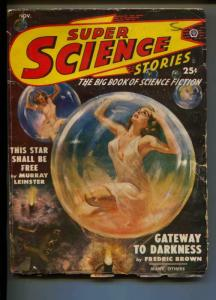 Super Science Stories-Pulp-11/1949-Ray Bradbury-Frank Belknap Long