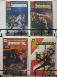 SHADOWMASTERS 1-4  Punisher's ninja pals, JIM LEE