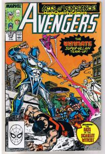 AVENGERS #313, NM+, Captain America, Iron Man, Thor, 1963, more in store