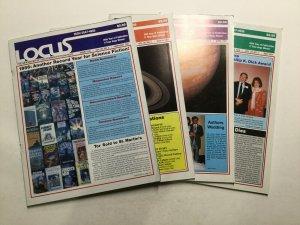 Locus Magazine 1987 313-316 318 322 Magazine Lot Vf 8.0 Warner Publisher