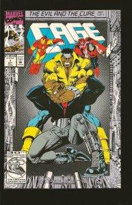 Marvel Comics Cage Vol 1 No 7 October 1992