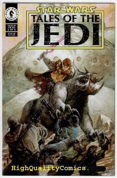 STAR WARS ; TALES of the JEDI #2, NM+, Dorman, Veitch, more SW in store