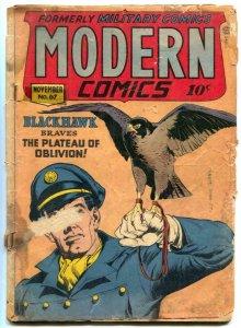 Modern #67 1947- Blackhawk- Torchy Bill Ward low grade