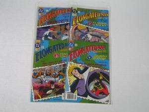 ELONGATED MAN #1-4---4 ISSUE LOT---HIGH-GRADE-DC COMICS VF/NM