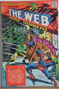 Mighty Comics #40 (1966) The Web vs Ironfist!!!