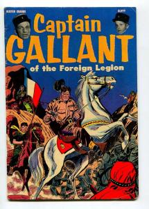 CAPTAIN GALLANT AND THE FOREIGN LEGION 1955-DON HECK-BUSTER CRABBE- FN-