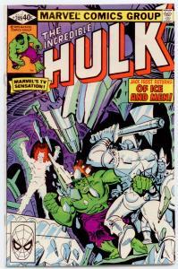Incredible Hulk #249 NM 9.4  SUPER HIGH GRADE! UNREAD!
