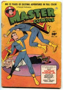 Master Comics #118 1950- Tom Mix- Captain Marvel Jr