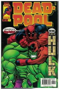 DEADPOOL (1997) 4 VF-NM Hulk April 1997
