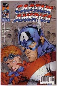 Captain America   vol. 2   # 8 VF (Heroes Reborn)