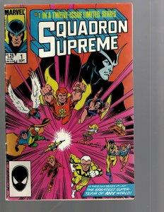 12 Comics Squadron Supreme #1 2 3 4 5 6 7 9 10 11 12 Spirits Vengeance #3 EK18