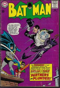 Batman #169 (DC, 1964) VG  KEY 2nd Penguin
