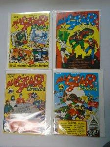 Flashback All Star Comics #1-4 set reprints avg 7.0 FN VF