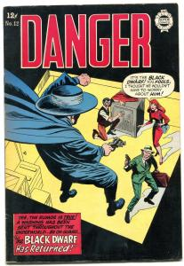 Danger #12 1964-Super Golden Age reprints- Black Dwarf- Nemo VF
