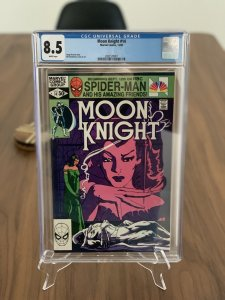Moon Knight #14 1st App of Stained Glass Scarlet - CGC 8.5