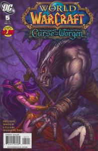 World of Warcraft: Curse Of The Worgen #5 VF; WildStorm   save on shipping - det
