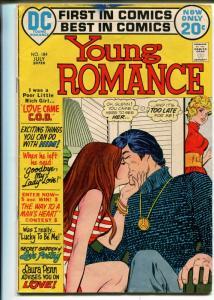 Young Romance #184 1972- DC-lingerie panels-VG MINUS