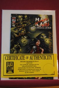 Hari Kari The Silence of Evil Limited to 3000! Singed by all creators, free CD