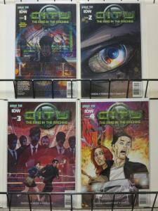 CITY THE MIND IN THE MACHINE (2014 IDW) 1A-4A  COMPLETE
