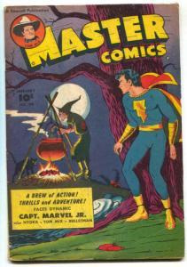 Master Comics #99 1949- Captain Marvel Jr- Bulletman VG