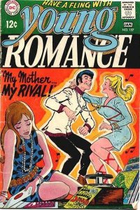 Young Romance Comics (1963 series) #157, VG- (Stock photo)