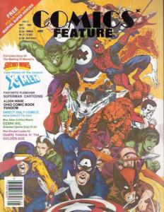 Comics Feature #29 FN; NBM | save on shipping - details inside