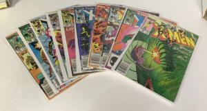 Uncanny X-Men 181 182 183 184 185 186 187 188 189 190 Fn - Vf Marvel Comics