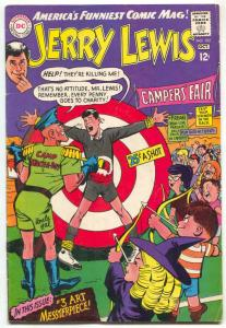 Adventures of Jerry Lewis #102 1967- Wild cover- Beatles FN