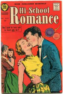 Hi-School Romance #64 1957- Harvey comics- Bob Powell art VG+