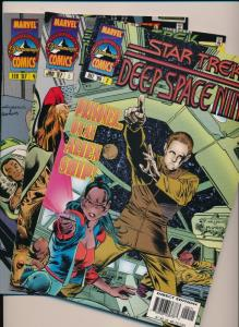 Star Trek DS9 #2,3,4 Deep Space Nine ~ Marvel Comics ~ NM (HX614)