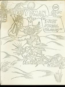 BOYDMAN AND FITZI #3-1967-BATMAN PARODY-FANZINE-RARE VG/FN
