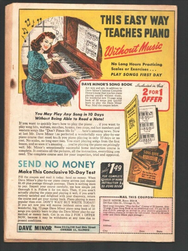 Texas Slim and Dirty Dalton #4 1944-ME-A-1 Comics series- Ferd Johnson newspa...