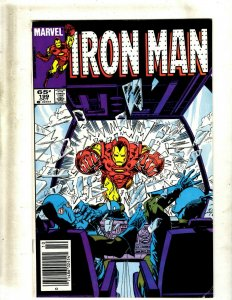 Lot of 12 Iron Man Comics #199 200 202 204 205 206 207 208 209 211 212 215 GB2