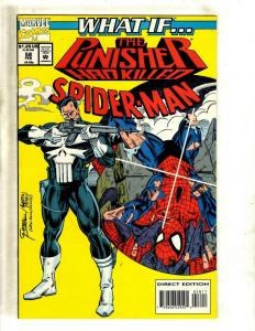 What If ? # 58 NM Marvel Comic Book Feat. Punisher Spider-Man Avengers Hulk J381