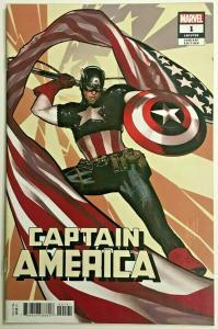 CAPTAIN AMERICA#1 NM 2018 ADAM HUGHES VARIANT MARVEL COMICS