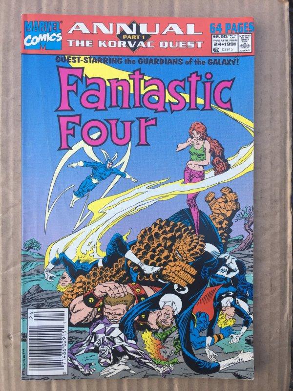 Fantastic Four Annual #24 (1991)