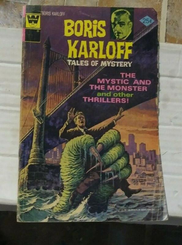 boris karloff tales of mystery # 64 19752 whitman/ western publishing