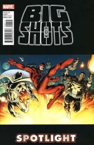 Punisher, Moon Knight & Daredevil: The Big Shots #1 VF/NM; Marvel   save on ship