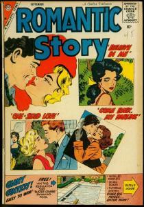Romantic Story #45 1959- Charlton Comics- Vince Colletta VG
